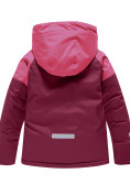 Оптом Горнолыжный костюм Valianly для девочки малинового цвета 90081M в Екатеринбурге, фото 3