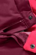 Оптом Горнолыжный костюм Valianly для девочки малинового цвета 90081M в Екатеринбурге, фото 17