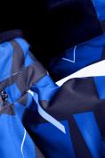 Оптом Горнолыжный костюм Valianly для мальчика синего цвета 9019S в Екатеринбурге, фото 8