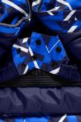 Оптом Горнолыжный костюм Valianly для мальчика синего цвета 9019S в Екатеринбурге, фото 10