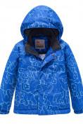 Оптом Горнолыжный костюм Valianly детский синего цвета 9011S в Екатеринбурге, фото 2