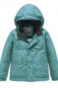 Оптом Горнолыжный костюм Valianly детский зеленого цвета 9011Z в Екатеринбурге, фото 2