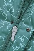 Оптом Горнолыжный костюм Valianly детский зеленого цвета 9011Z в Екатеринбурге, фото 9