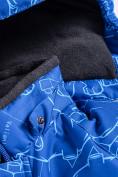 Оптом Горнолыжный костюм Valianly детский синего цвета 9011S в Екатеринбурге, фото 9