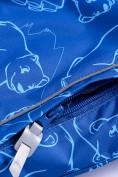 Оптом Горнолыжный костюм Valianly детский синего цвета 9011S в Екатеринбурге, фото 11