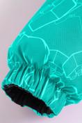 Оптом Горнолыжный костюм Valianly детский бирюзового цвета 9012Br в Екатеринбурге, фото 14