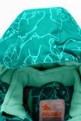 Оптом Горнолыжный костюм Valianly детский бирюзового цвета 9012Br в Екатеринбурге, фото 8