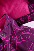 Оптом Горнолыжный костюм Valianly детский малинового цвета 9012M в Екатеринбурге, фото 9
