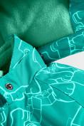 Оптом Горнолыжный костюм Valianly детский бирюзового цвета 9012Br в Екатеринбурге, фото 9