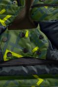 Оптом Горнолыжный костюм Valianly детский хаки цвета 9013Kh в Екатеринбурге, фото 10