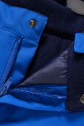 Оптом Горнолыжный костюм Valianly детский синего цвета 9013S в Екатеринбурге, фото 11