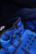 Оптом Горнолыжный костюм Valianly детский синего цвета 9013S в Екатеринбурге, фото 8