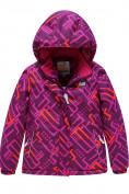 Оптом Горнолыжный костюм Valianly детский фиолетового цвета 9014F в Екатеринбурге, фото 2