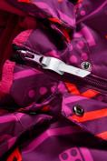 Оптом Горнолыжный костюм Valianly детский фиолетового цвета 9014F в Екатеринбурге, фото 9