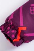 Оптом Горнолыжный костюм Valianly детский фиолетового цвета 9014F в Екатеринбурге, фото 13