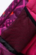 Оптом Горнолыжный костюм Valianly детский фиолетового цвета 9014F в Екатеринбурге, фото 10