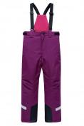 Оптом Горнолыжный костюм Valianly детский фиолетового цвета 9014F в Екатеринбурге, фото 4
