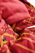Оптом Горнолыжный костюм Valianly детский персикового цвета 9014P в Екатеринбурге, фото 8