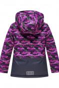 Оптом Горнолыжный костюм Valianly для девочки темно-фиолетового цвета 9016TF в Екатеринбурге, фото 3