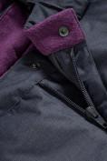 Оптом Горнолыжный костюм Valianly для девочки темно-фиолетового цвета 9016TF в Екатеринбурге, фото 14