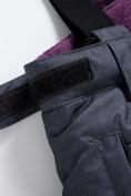 Оптом Горнолыжный костюм Valianly для девочки темно-фиолетового цвета 9016TF в Екатеринбурге, фото 15