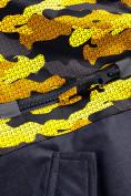 Оптом Горнолыжный костюм Valianly для девочки желтого цвета 9016J в Екатеринбурге, фото 9