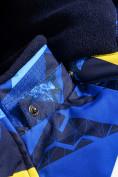 Оптом Горнолыжный костюм Valianly для мальчика синего цвета 9017S в Екатеринбурге, фото 9