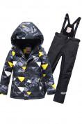 Оптом Горнолыжный костюм Valianly для мальчика темно-серого цвета 9017TC в Екатеринбурге