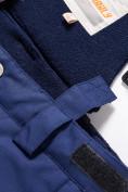 Оптом Горнолыжный костюм Valianly для мальчика синего цвета 9017S в Екатеринбурге, фото 17