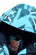 Оптом Горнолыжный костюм Valianly для девочки голубого цвета 9020Gl в Екатеринбурге, фото 7