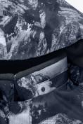 Оптом Горнолыжный костюм для мальчика Valianly серого цвета 9021Sr, фото 11