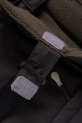 Оптом Горнолыжный костюм для мальчика Valianly коричневого цвета 9021K, фото 17