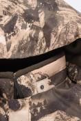 Оптом Горнолыжный костюм для мальчика Valianly коричневого цвета 9021K, фото 11