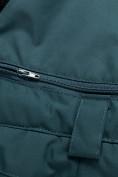 Оптом Горнолыжный костюм для девочки Valianly бирюзового цвета 9022Br, фото 24