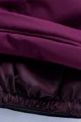 Оптом Горнолыжный костюм для девочки Valianly малинового цвета 9022M, фото 21