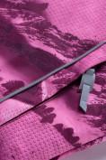 Оптом Горнолыжный костюм для девочки Valianly малинового цвета 9022M, фото 8