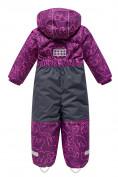 Оптом Комбинезон Valianly детский фиолетового цвета 9024F в Екатеринбурге, фото 2