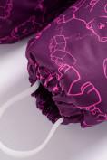 Оптом Комбинезон Valianly детский фиолетового цвета 9024F в Екатеринбурге, фото 9