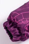 Оптом Комбинезон Valianly детский фиолетового цвета 9024F в Екатеринбурге, фото 6