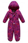 Оптом Комбинезон Valianly детский фиолетового цвета 9026F