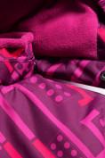 Оптом Комбинезон Valianly детский фиолетового цвета 9026F, фото 5