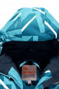 Оптом Комбинезон Valianly детский голубого цвета 9028Gl в Екатеринбурге, фото 4