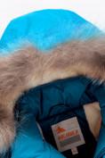 Оптом Парка зимняя Valianly для девочки голубого цвета 9034Gl в Екатеринбурге, фото 4