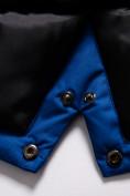 Оптом Парка зимняя Valianly для мальчика синего цвета 9037S, фото 7