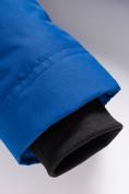 Оптом Парка зимняя Valianly для мальчика синего цвета 9037S, фото 11