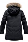 Оптом Парка зимняя Valianly для мальчика черного цвета 9039Ch, фото 2