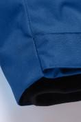 Оптом Парка зимняя для мальчика Valianly синего цвета 9041S, фото 16