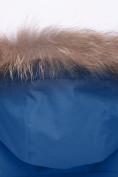 Оптом Парка зимняя для мальчика Valianly синего цвета 9041S, фото 7