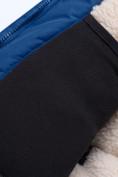 Оптом Парка зимняя для мальчика Valianly синего цвета 9041S, фото 10