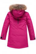 Оптом Парка зимняя Valianly для девочки розового цвета 9042R, фото 2